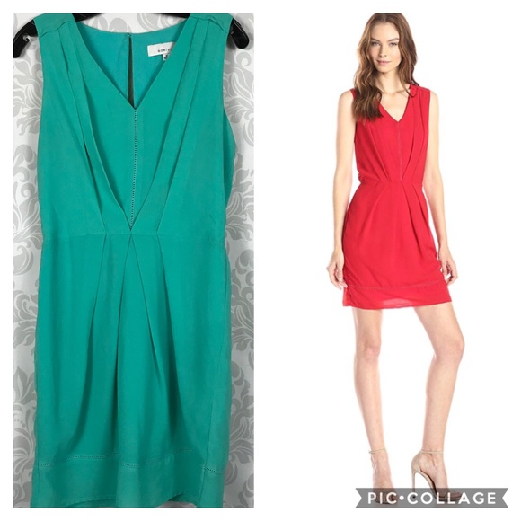 8328ea883c51 Adelyn Rae Dresses | Turquoise Sleeveless Sheath Dress Sz M | Poshmark